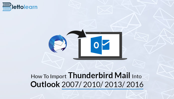 How to import Thunderbird mail into Outlook 2007 With Manual