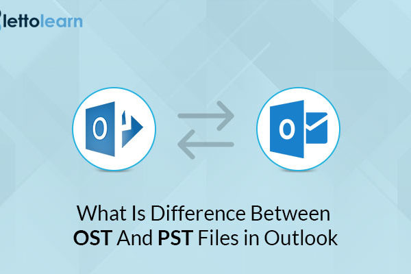 difference between OST And PST Files in Outlook