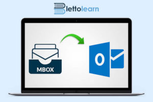 how to open the mbox file in Outlook
