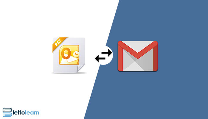 import pst file into gmail