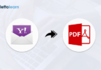 How to convert Yahoo Mail to PDF