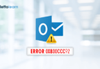 Fix Outlook Error 0x800ccc92