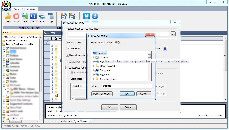 Microsoft Outlook 0x800ccc92 error
