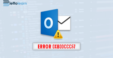 Outlook Error 0x800ccc67