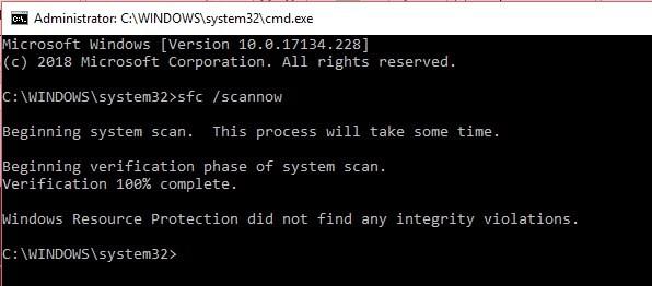 Error 0x80070005
