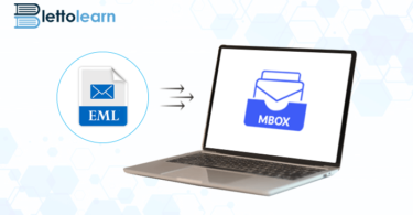 Transfer eml files to MBOX
