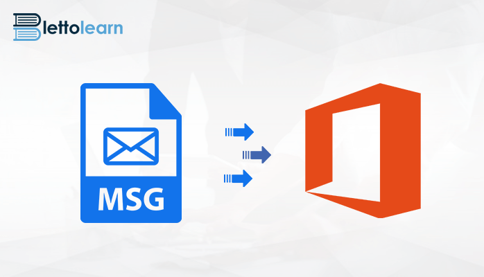 Export MSG to Office 365