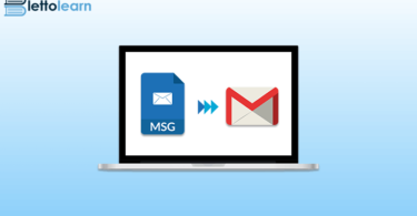 msg to gmail conversion process