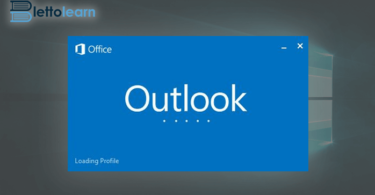 outlook stuck on loading profile