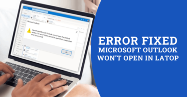 outlook won't load